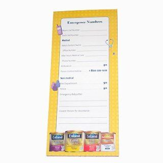 Magnetic Refrigerator Paper Notepad To Do List Memo Pad by Enfamil Baby Formula  Stationery Notepads  Beauty
