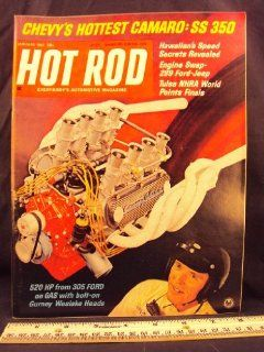 1967 67 JAN January HOT ROD Magazine, Volume 20 Number # 1 Petersen Publishing Co. Books