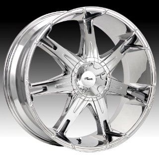Pacer Fuzion 18x7.5 Chrome Wheel / Rim 5x4.5 & 5x5 with a 42mm Offset and a 73.00 Hub Bore. Partnumber 781C 8750642 Automotive