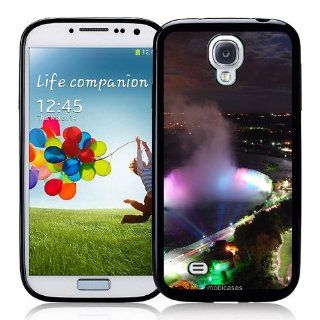 Niagara Falls By Night   Protective Designer BLACK Case   Fits Samsung Galaxy S4 i9500 Cell Phones & Accessories