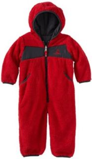 Rugged Bear Baby Boys Infant Pram Solid Jacket, Red, 12 Months Clothing