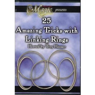 25 Amazing Tricks With Linking Rings Dvd Toys & Games