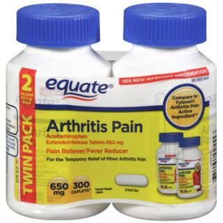 Equate Acetaminophen Arthritis Pain Reliever/Fever Reducer
