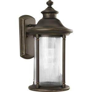 Progress Lighting Reside Collection Oil Rubbed Bronze 1 Light Wall Lantern P5979 108