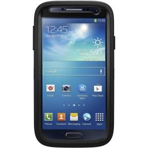 OtterBox Defender Cell Phone Case for Samsung Galaxy S4   Black 77 27434P3