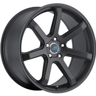 Mach M7 19 Black Wheel / Rim 5x4.5 with a 35mm Offset and a 72.56 Hub Bore. Partnumber M7 1985LL35FSB Automotive