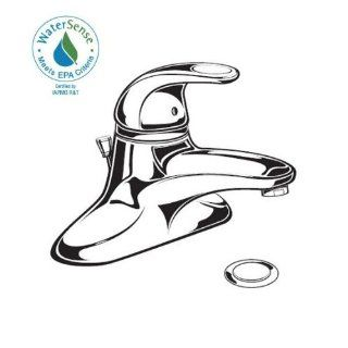 American Standard 6114.116.002 Bathroom Sink, Polished Chrome   Bathroom Sink Faucets