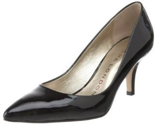 Sacha London Women's Actor Pump, Black Patent, 6 M US Pumps Shoes Shoes