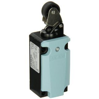 Siemens 3SE5 112 0LE01 International Limit Switch Complete Unit, Roller Lever, 40mm Metal Enclosure, Metal Lever, 22mm Plastic Roller, Snap Action Contacts, 1 NO + 2 NC Contacts Electronic Component Limit Switches