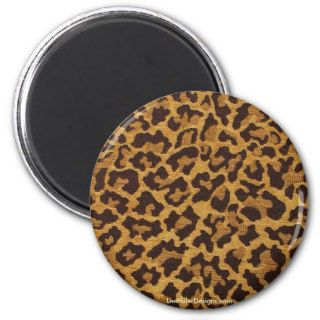 Rockabilly rab Leopard Print Gifts & Collectibles Magnet