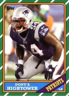 2013 Topps Archives NFL Football Trading Cards # 137 Dont'a Hightower� � New England Patriots Sports Collectibles