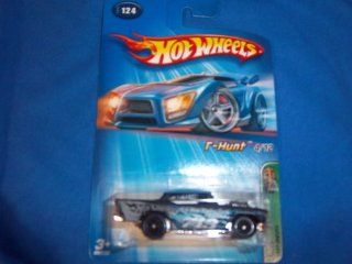 Mattel Hot Wheels 2005 Treasure Hunt 164 Scale Black 1957 Chevy 4/12 Die Cast Car #124 Toys & Games