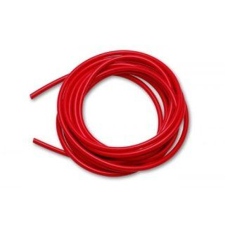 "High Performance Silicone Vacuum Hose   5 feet   3/16"" ID (.156""5mm)   Red Automotive"