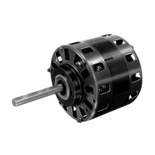 "Fasco D158 5"" Frame Open Ventilated Shaded Pole Direct Drive Blower Motor with Sleeve Bearing, 1/5 1/6 1/7HP, 1050rpm, 115V, 60Hz, 6.7 5.3 4.7 amps Electronic Component Motors"