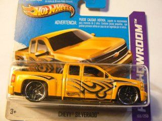 Hot Wheels HW Showroom Chevy Silverado 168/250 on Short Card