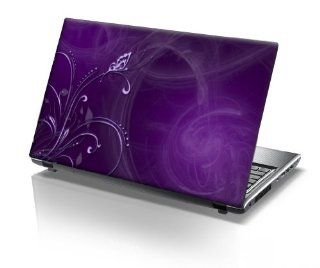 15'6 Inch Taylorhe laptop skin protective decal beautiful purple vines Computers & Accessories