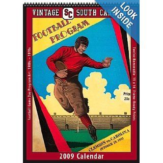 South Carolina Gamecocks 2009 Vintage Football Program Calendar Asgard Press 9781603681841 Books