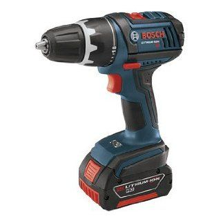 Factory Reconditioned Bosch DDS181 02 RT 18V Cordless Lithium Ion Compact Tough 1/2 in. Drill Driver with 2 Slim Pack HC Batteries   Power Pistol Grip Drills