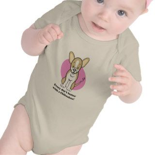 Cute Cartoon Dog Chihuahua Baby Tee