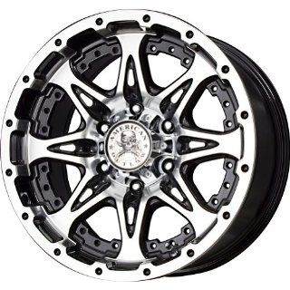 "American Outlaw Buckshot Series Black Wheel with Machined Face (20x9""/8x165.1mm) Automotive"