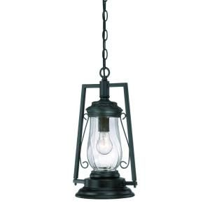 Acclaim Lighting Kero Collection Hanging Lantern 1 Light Outdoor Matte Black Light Fixture 3496BK