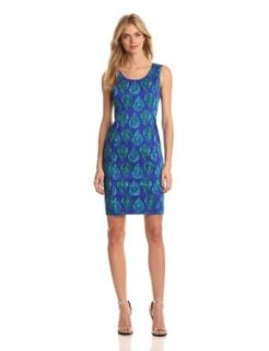 Jones New York Women's Sleeveless Shift Dress