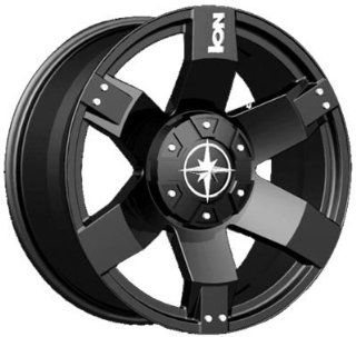 20 Inch 20x9 Ion Alloy wheels STYLE 185 Black wheels rims Automotive