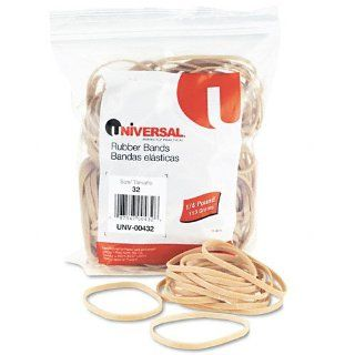 Universal Products   Universal   Rubber Bands, Size 32, 3 x 1/8, 185 Bands/1/4lb Pack   Sold As 1 Pack   General purpose rubber bands for home or office use.