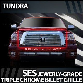 2007 2009 Toyota Tundra SES Chrome Billet Grille (top) Automotive