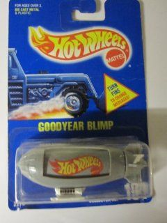 Goddyear Blimp Hot Wheels All Blue Card # 194