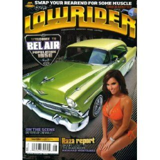 Lowrider August 2011 Candy Ace on Cover (also a 1956 Chevy Bel Air), 100 Years of Chevrolet, 1971 Monte Carlo, 1964 Impala Station Wagon, 1957 Chevy Convertible, 1951 Chevy Deluxe Truck Lowrider Magazine Books