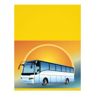 FreeVector Bus Transportation travel touring Flyer