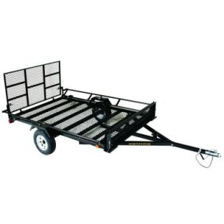UniStar 6 ft. x 9.5 ft. ATV Trailer Kit with Side Loading Ramps and Rear Loading Gate Uni
