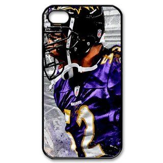 Alicefancy NFL Baltimore Ravens Team Member Iphone 4 & 4s Case For Ray Lewis Personalized Design Iphone 4 & 4s Cover Case YQC10035 Cell Phones & Accessories