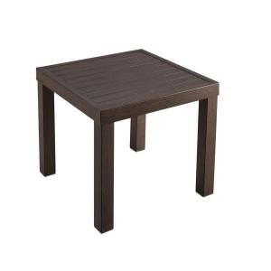 Hampton Bay Millstone Patio Side Table FTA74045E