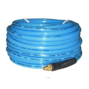 AirPro 3/8 in. x 100 ft. Light Blue Polyurethane Air Hose HDPUR 3/8x100RLBL S BR