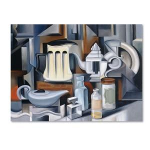Trademark Fine Art 18 in. x 24 in. Still Life with Teapots Canvas Art BL01229 C1824GG