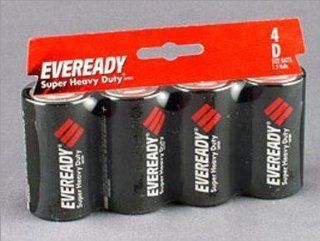 Eveready Super Heavy Duty Battery (1250 4) 12 each
