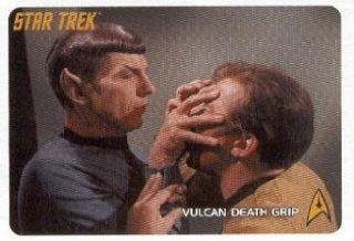 2009 Rittenhouse Star Trek The Original Series #279 Vulcan Death Grip Trading Card Entertainment Collectibles