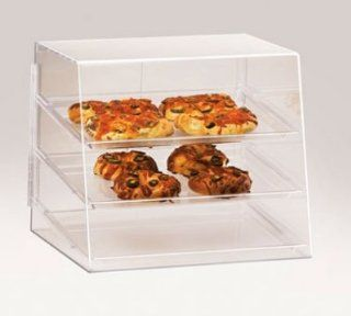 Cal Mil P241 Countertop Display Case w/ 2 Rear Door & 3 Tray, 19 x 14 x 16 in H, Each Kitchen Small Appliances Kitchen & Dining