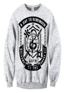 A Day To Remember   Snake Pit Crewneck Sweatshirt Music Fan Sweatshirts Clothing
