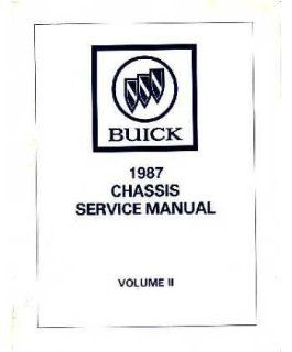1987 Buick Grand National T Type Service Shop Repair Manual Engine Drivetrain OEM Automotive