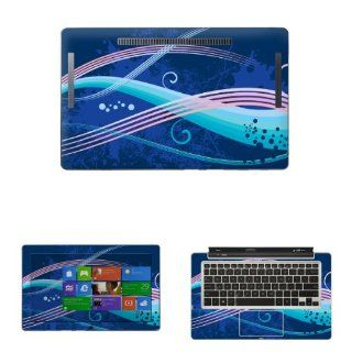 "Decalrus   Decal Skin Sticker for ASUS Transformer Book TX300CA with 13.3"" Touchscreen notebook tablet (NOTES Compare your laptop to IDENTIFY image on this listing for correct model) case cover wrap asusTX300CA 284 Electronics"