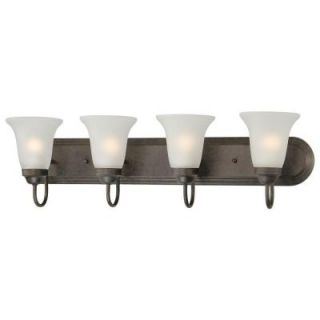 Thomas Lighting Homestead 4 Light Colonial Bronze Wall Vanity DISCONTINUED SL710423
