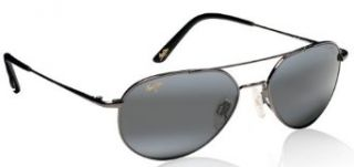 Maui Jim LANAI 306 02 sunglasses Gunmetal with Gray lenses Clothing