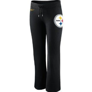 Nike Pittsburgh Steelers Ladies Tailgater Fleece Pants   Black  Sports Fan Apparel  Sports & Outdoors