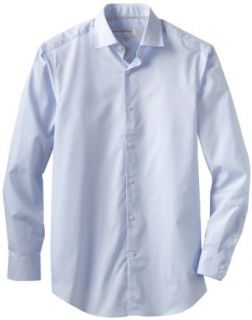 Perry Ellis Men's Premium Circle Dobby Dress Shirt, Blue Dust, 16.5 323 at  Men�s Clothing store