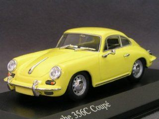 DP 1/43 Porsche 356C Coupe 1965 (Yellow) 430 062 327 Toys & Games