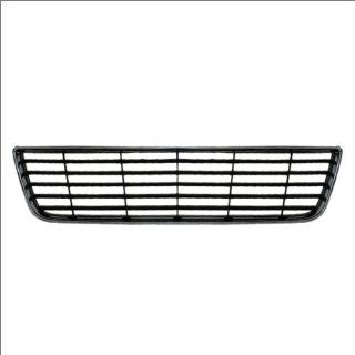 CarPartsDepot, Chrome Outer Frame Black Bar Grid Front Bumper Lower Grill Grille Replacement, 363 15103 GM1036106 10333711 Automotive
