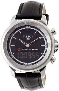 Tissot T Touch Classic Black Quartz Touch Mens Watch T0834201605100 Tissot Watches